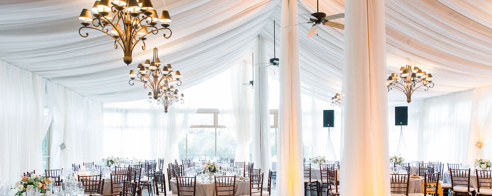 A beautiful clubhouse setup awaits its guests at Hiddenbrooke Golf Club in Vallejo